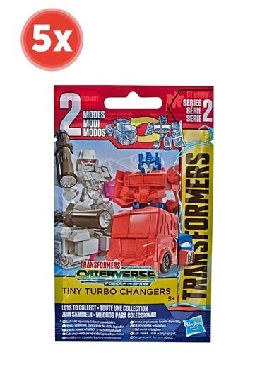 Hasbro Transformers Cyberverse Turbo Changers Sürpriz Paket Seri 2 X 5 Adet Renkli